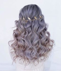 Romantic Florettes hair