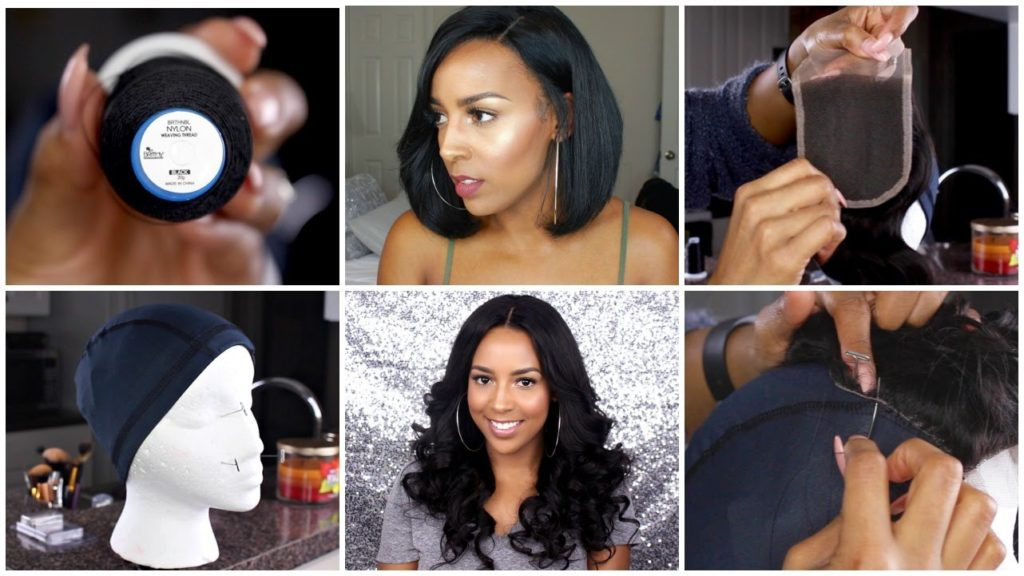 How to Make a Wig Using Brazilian Hair Bundles with Closure
