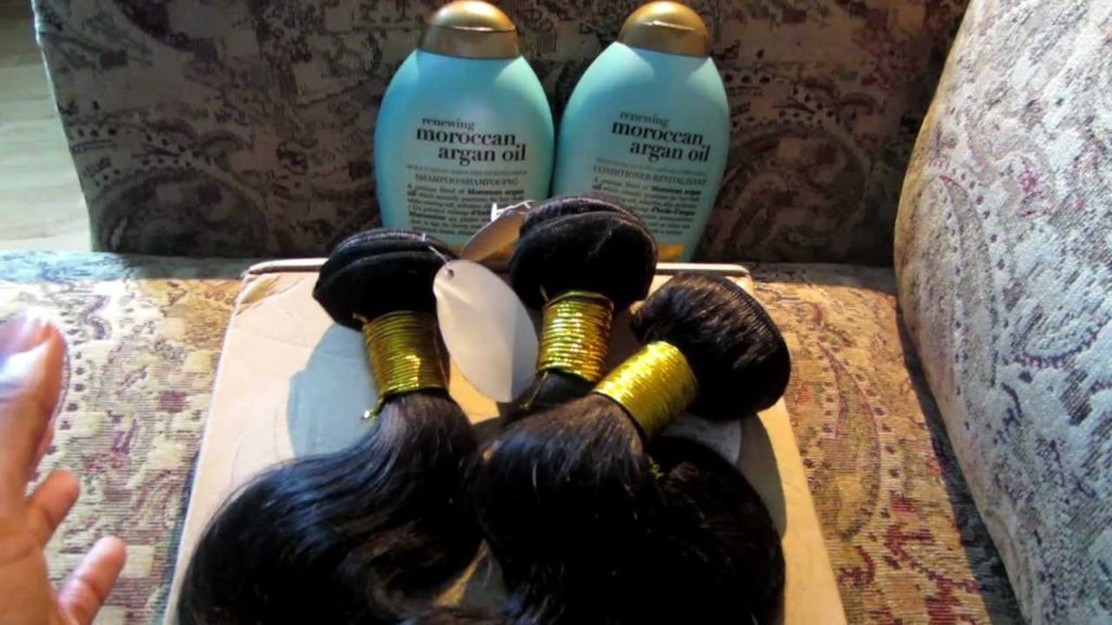 how to wash Brazilian hair