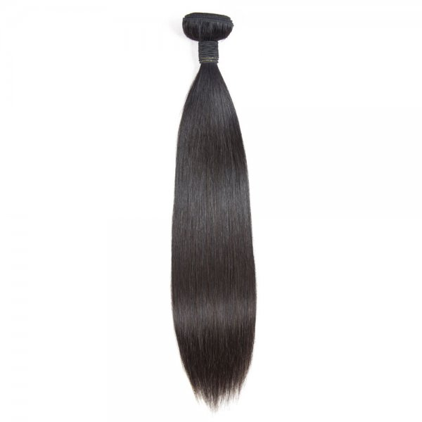 10A 1 Bundle Brazilian Straight Virgin Human Remy Hair Weave