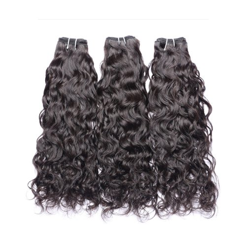 8A 3 Bundles Brazilian Natural Wave Virgin Human Remy Hair Weave