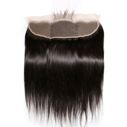 7A 13x4 Lace Frontal Closure Straight Human Virgin Brazilian Remy Hair