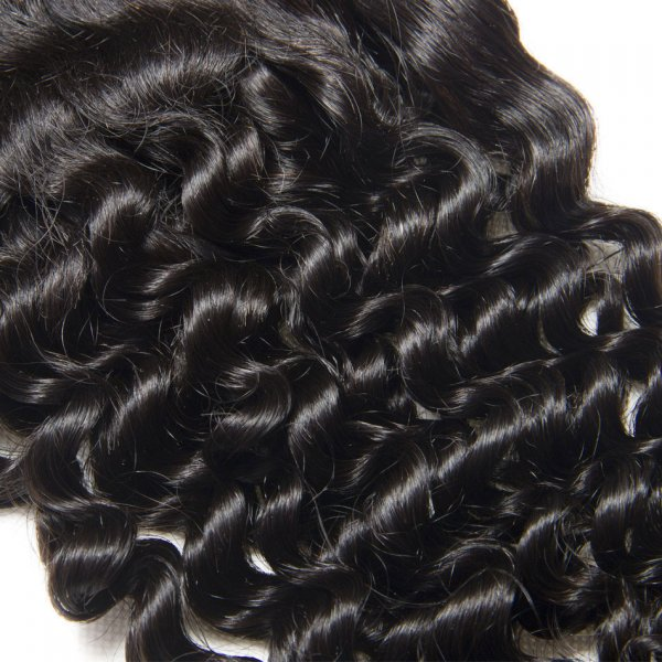 7A 13x4 Lace Frontal Closure Deep Curly Human Virgin Brazilian Remy Hair