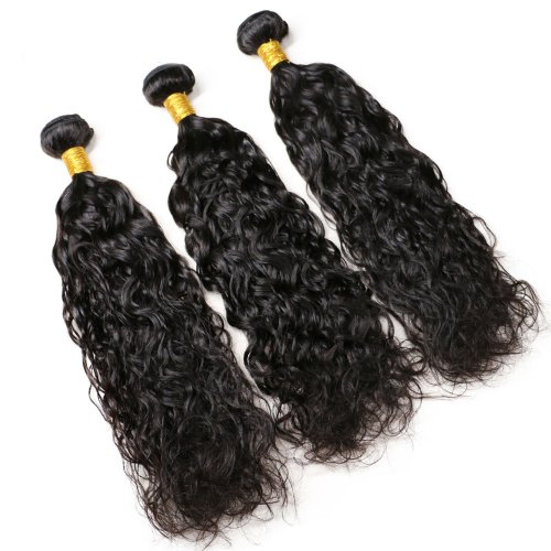 7A 3 Bundles Brazilian Natural Wave Virgin Human Remy Hair Weave