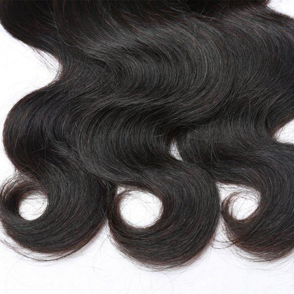 7A 2 Bundles Brazilian Body Wave Virgin Human Remy Hair Weave