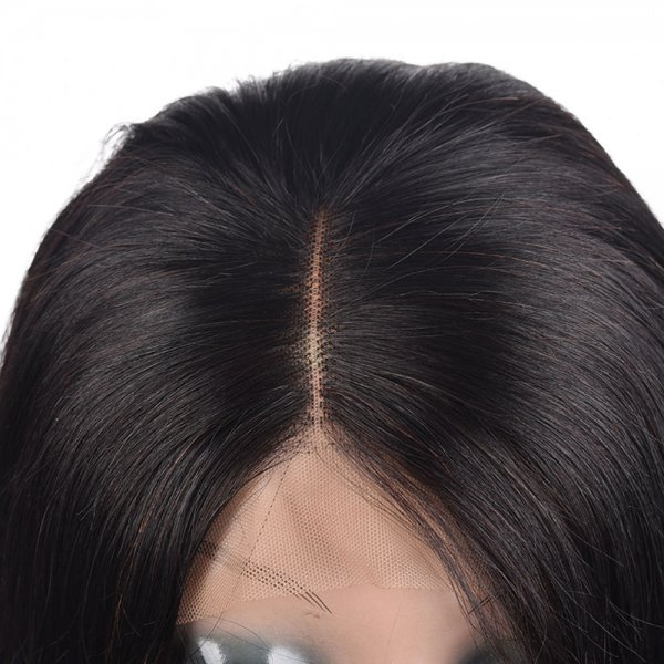 Best Short Human Hair Lace Front Bob Wigs Brazilian Straight Remy Virgin Hair With Baby Hair