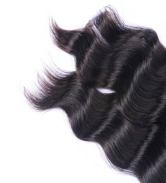 8A 4 Bundles Brazilian Loose Deep Virgin Human Remy Hair Weave