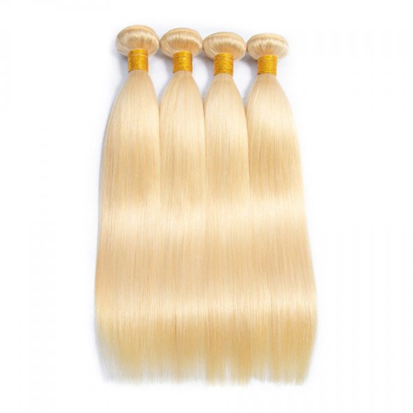 1 Bundle Dyed Straight Brazilian Hair Extensions #24 Color