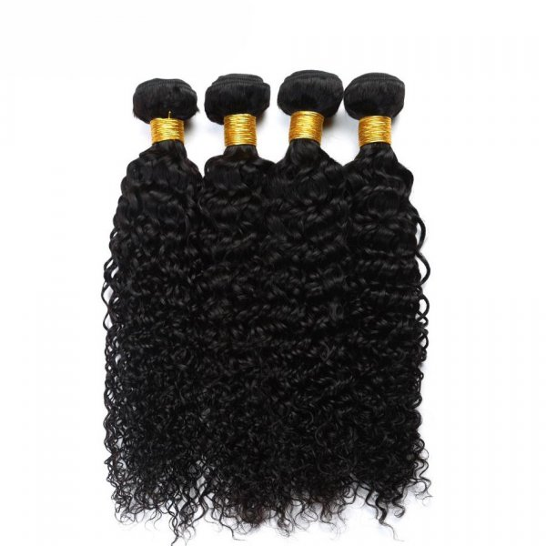 7A 2 Bundles Brazilian Deep Curly Virgin Human Remy Hair Weave