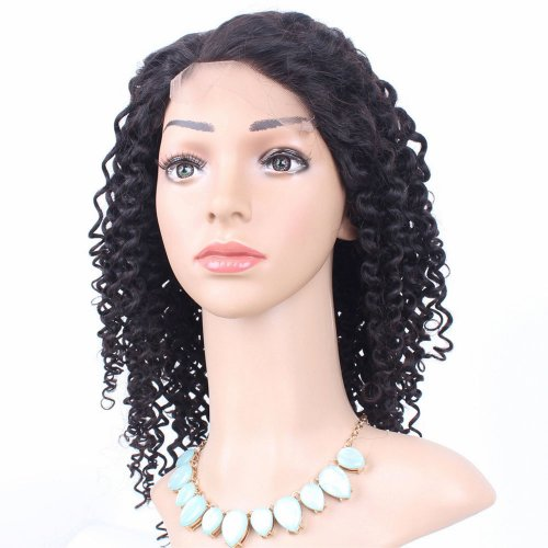 Full Lace Wigs Curly 100% Human Brazilian Remy Virgin Hair