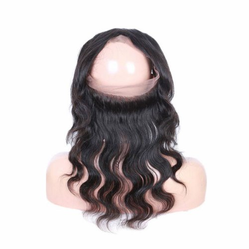 7A 360 Lace Frontal Closure Body Wave Human Brazilian Remy Virgin Hair