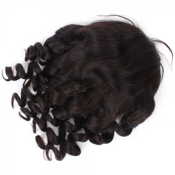 Full Lace Wigs Loose Wave 100% Human Brazilian Remy Virgin Hair