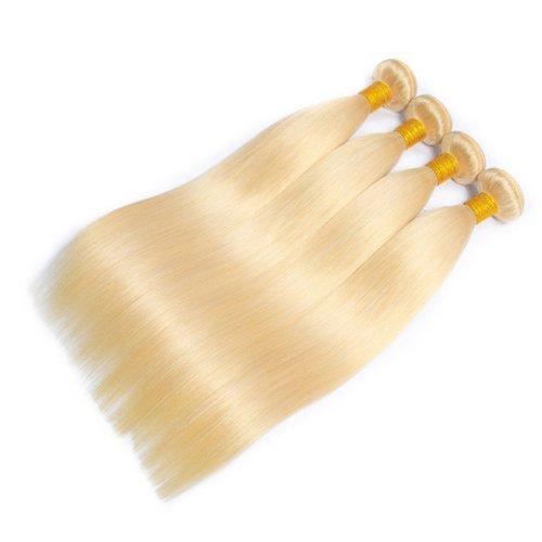4 Bundles Dyed Straight Brazilian Hair Extensions #24 Color
