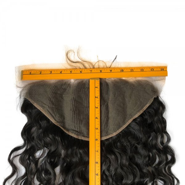 7A 13x4 Lace Frontal Closure Natural Wave Human Virgin Brazilian Remy Hair