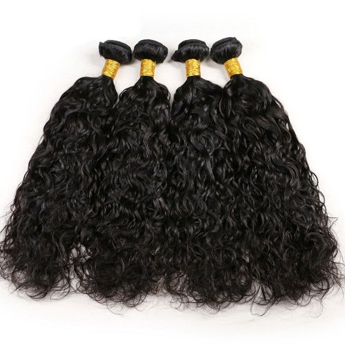 7A 4 Bundles Brazilian Natural Wave Virgin Human Remy Hair Weave