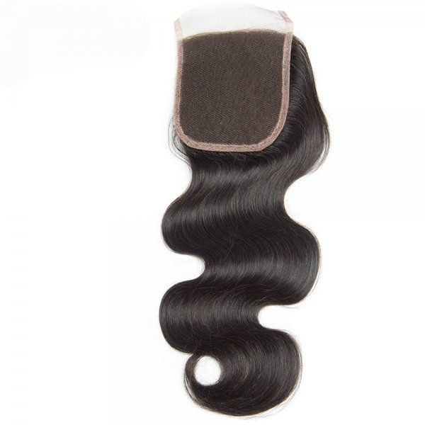 8A 4x4 Lace Closure Body Wave 100% Human Virgin Brazilian Remy Hair