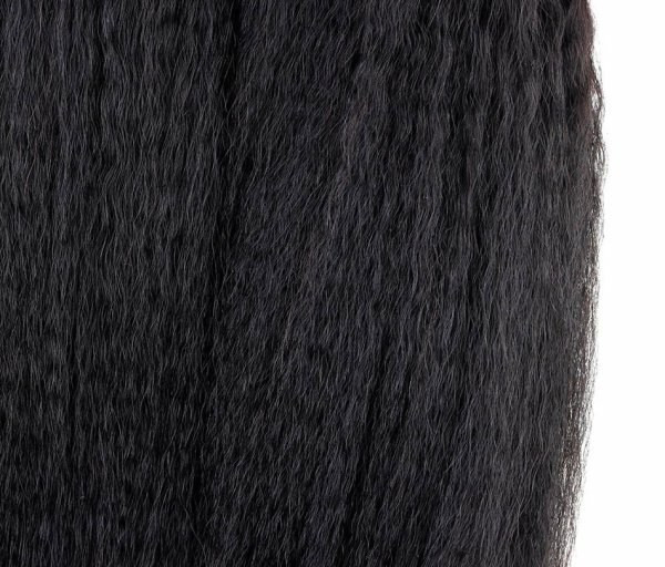 7A 4 Bundles Brazilian Kinky Straight Virgin Human Remy Hair Weave
