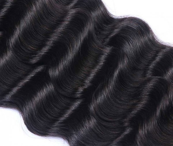 7A 3 Bundles Brazilian Loose Deep Virgin Human Remy Hair Weave