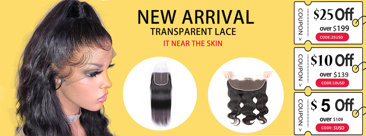 New Arrivals Transparent Lace